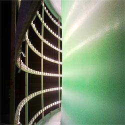 LED Backdrop Lighting using LED Modules