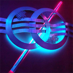 Lounge Lighting using RGB LED Strip Lights