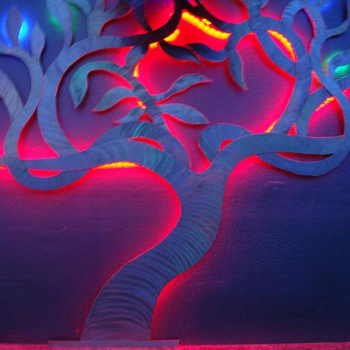 High Quality Lounge Lighting Using RGB LED Strip Lights