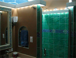 LED Bathroom Lighting using LED Modules