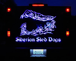 Back Lit LED Dog Truck Display using RGB Modules