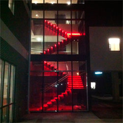 LED Staircase Red
