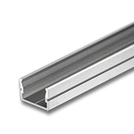 "SILER Aluminum Extrusion for Waterproof Strips - .5"" Deep"
