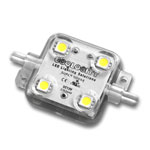 Super Nova 4 LED Module Warm White  - 50 Module String - 21.35