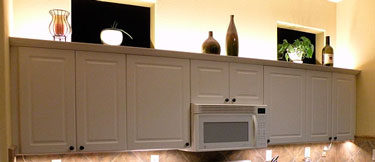 above cabinet led lighting using led modules diy led projects rh ecolocityled com  over bathroom cabinet led lighting