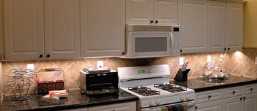 Under Cabinet Led Lighting Using Modules