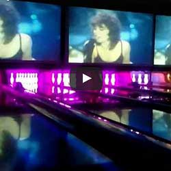 Bowling Lanes using 3 in 1 LED Wall Washers and DMX Control