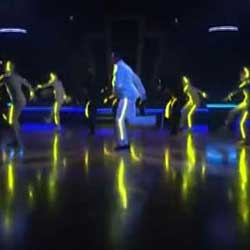 Chris Brown Dancing with the Stars using RGB 180