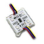 25 Color Star Digital 4 Chip RGB LED Modules - 2801IC 12VDC