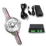 50 Digital 1 Chip Reverse Mount RGB LED Pixel Module Kit - DMX Addressable 5VDC