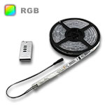 Digital Star RGB LED Strip Light with Built in Controller, 16.4