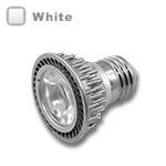 E27 LED Bulb 5W 45 Deg Silver - White