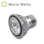 E27 LED Bulb 5W 45 Deg Silver - Warm White