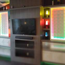 Digital Strip Light and Pixel Control for Groovy Living Room Lighting