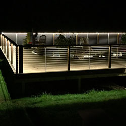 LED Deck Railing Lighting using Extreme LED Strip Lights