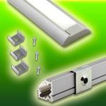 KLUS Aluminum Channels for LED Strip Lights