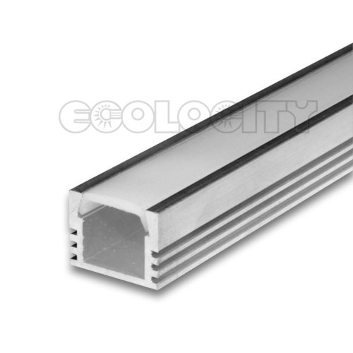Led Aluminum Extrusion With Frosted Cover