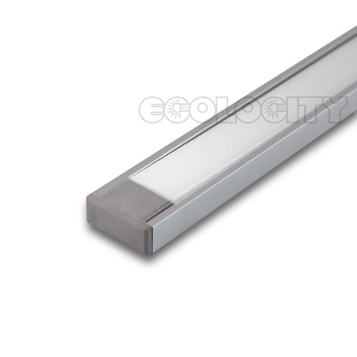 Aluminum Extrusion Caps for LED Lights