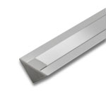 Plastic End Cap for PAC ALU Triangle Extrusion