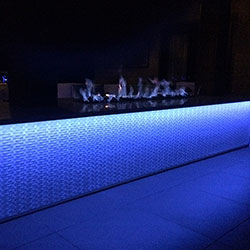LED Strip Light Landscape