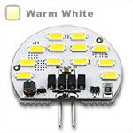 G4 Wafer LED 4 watts, Samsung Chip - Warm White