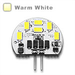 G4 Wafer LED 2 watts, Samsung Chip - Warm White