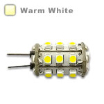 G4 Barrel type LED Bulb 1.6W - Warm White