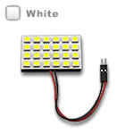 G4 Rectangle Wafer with 24 - 5050 type LEDs - White