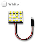 G4 Square Wafer Bulb with 16 - 5050 type LEDs - White