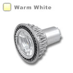 GU10 LED Bulb 5W 45 Deg Silver - Warm White