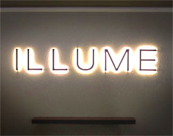 Warm White Indoor LED Sign Lighting