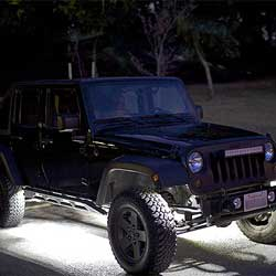 4x4 Under Cab Rock Crawler Lighting using LED Modules