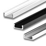 """MICRO Aluminum Extrusions - .2"""" Deep"""