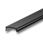 1 Meter Black Diffuser for KL1 Extrusions - Liger Black Cover