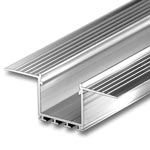"KOZEL Aluminum Extrusion for Drywall Mount - 1"" Wide"