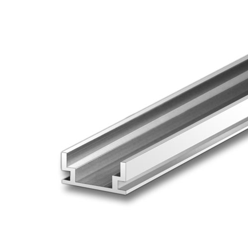 HR-ALU Aluminum Extrusion for Indoor / Outdoor Floor Mount