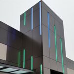 Facade LED Green