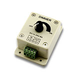 LED Knob Dimmer One Channel PWM, 12-24VDC 8A