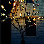 LED Bottle Tree