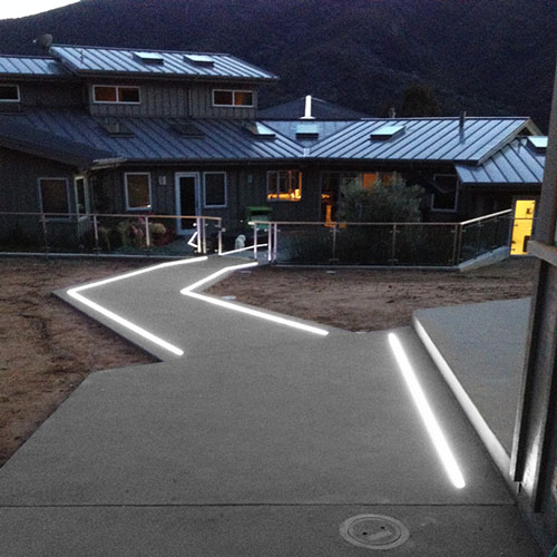 In Ground LED Strip Light