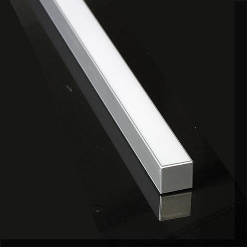 Led Aluminum Extrusion Cap For Lipod 1 Quot Deep Square Shaped