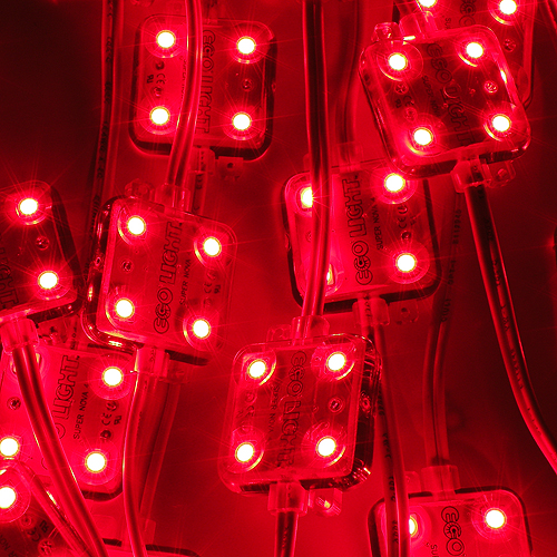 Super Nova 4 Led Module Red Backlight Leds For Cove Lights