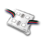ES4 LED Backlight Module 4 Chip - RGB - 10 Module String - 4.2ft