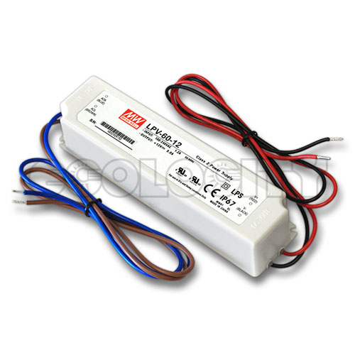 LinkCom LED Power Supply 60 Watt 12 Volt