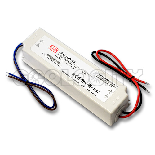 100W LED power supply 12VDC waterproof