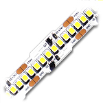 "Ribbon Star MegaLux, High Density White LED Strip Light - ETL 24VDC - 118"" (3m)"