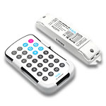 Mini Digital LED Pixel Controller with RF Remote, 5-24VDC 10A