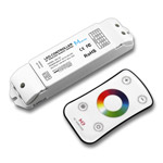 Mini RGB Color Wheel LED Sync Controller, 5-24VDC 5A/CH