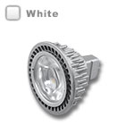 MR16 LED Bulb 4.5W 45 Deg Silver - White