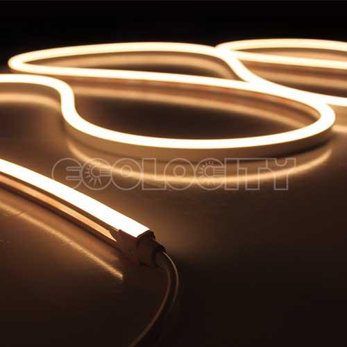 Mini Neon Side View Warm White Strip Light 24vdc